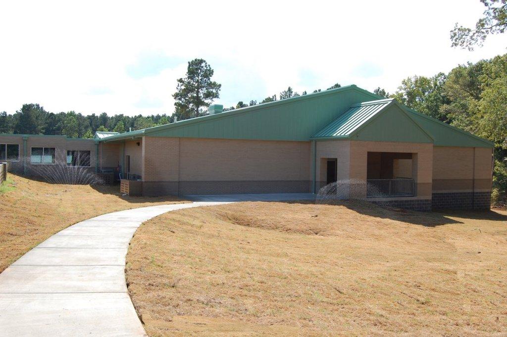 Sheridan School District's East End Intermediate School Addition Exterior