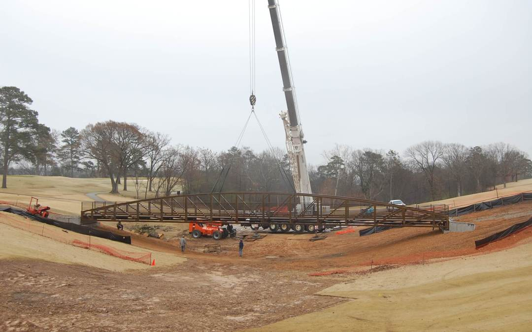 Project Update! Country Club of Little Rock Bridge…