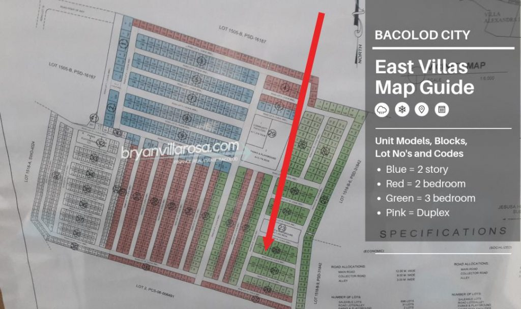 Block 22 Lot 4 East Villas Available Slot
