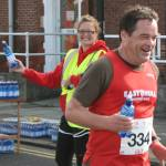 EHH Water Station at 6 miles - Hull Marathon
