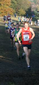 Alex Gibson on his way to post the fastest EHH leg of 16:38