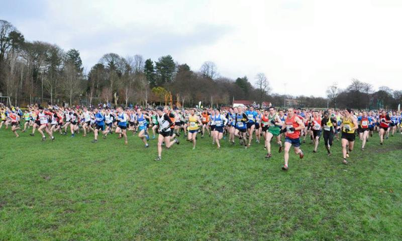 Nigel Sisson's Moment of Glory at the Start of the Northern XC 2016