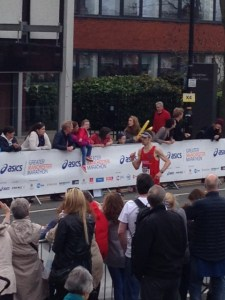Manchester Marathon 2 April 2017 - Darren White