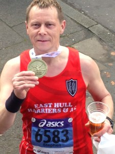 Manchester Marathon 2 April 2017 - Stephen Tichopad