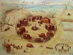 Powhatan Village; English Empire