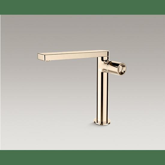 kohler composed composed single handle tall lav faucet side handle k 73159t 7 af