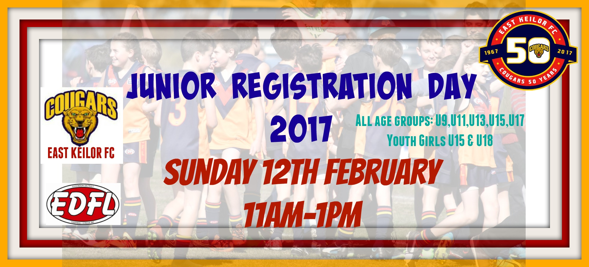 Junior Registration Day 2017