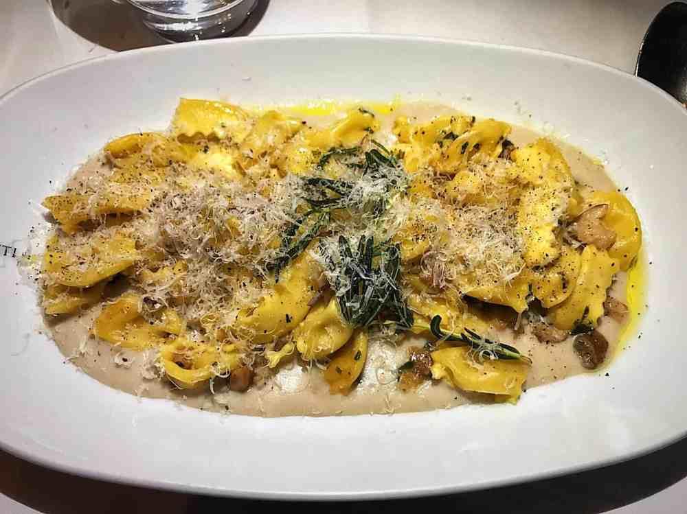 italian restaurant in Marylebone