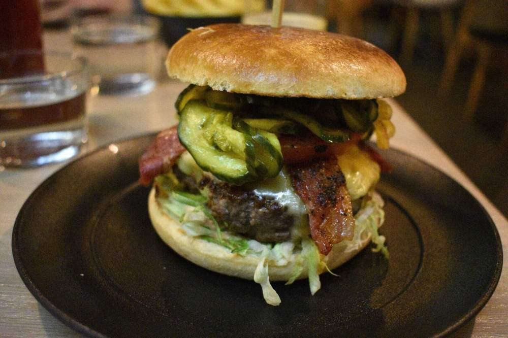 Cut & Grind Burgers Restaurant in Kings Cross