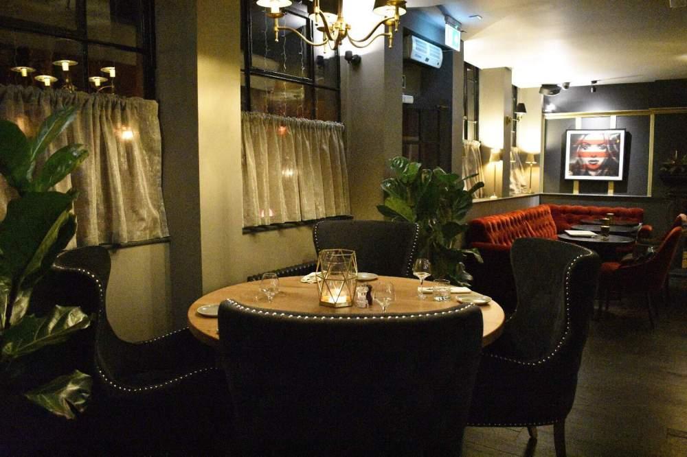 restaurant in regents park