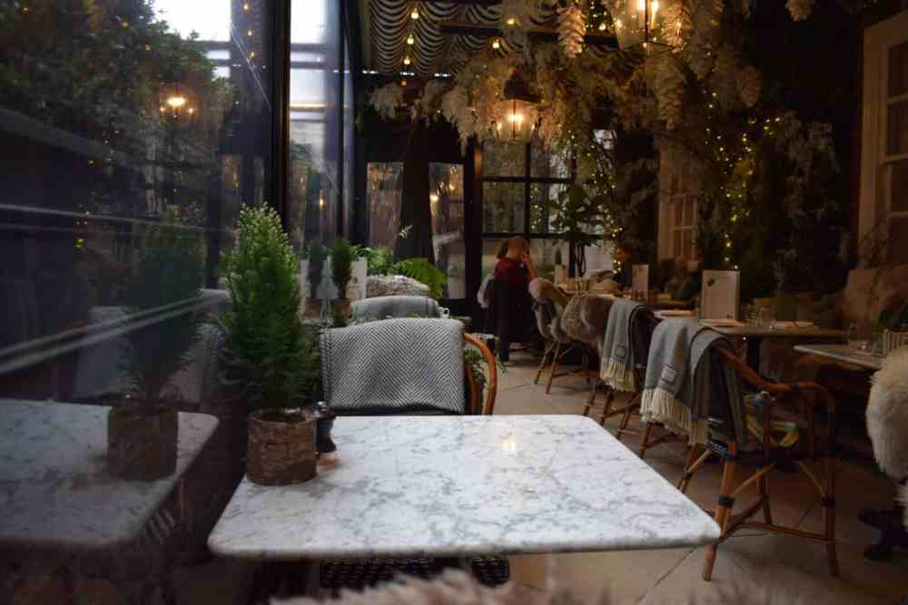 The Winter Wonderland of Dalloway Terrace