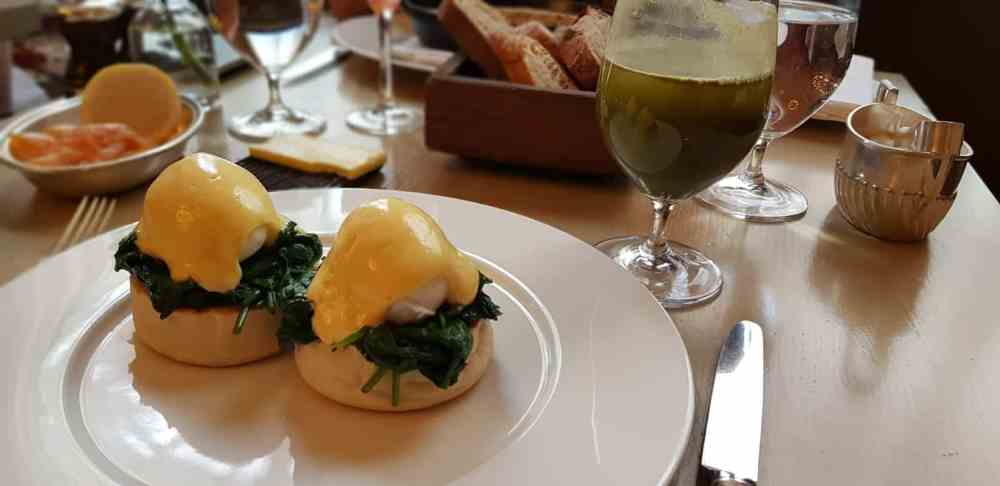 Berners Tavern: Brunch in London