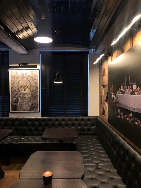 Contemporary Chinese restaurant in Covent Garden