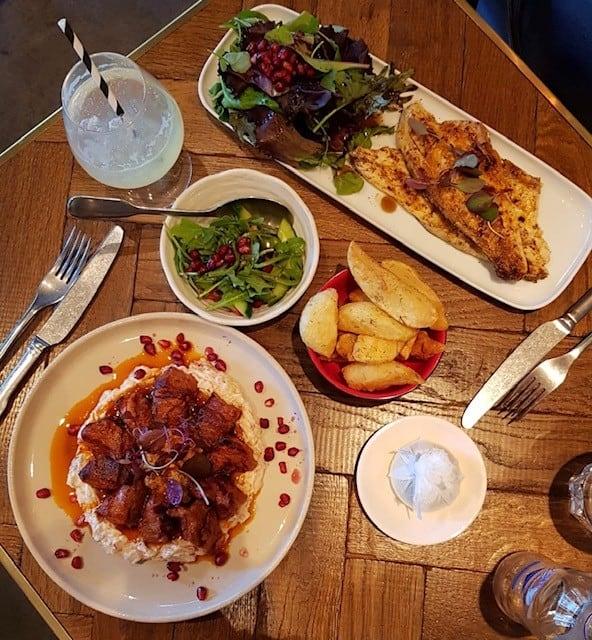 Turkish restaurant in Knightsbridge