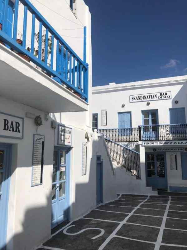bars in mykonos
