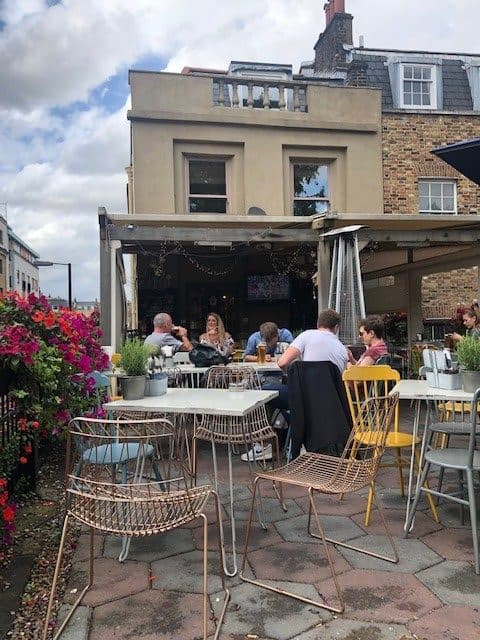 rooftop bar in islington
