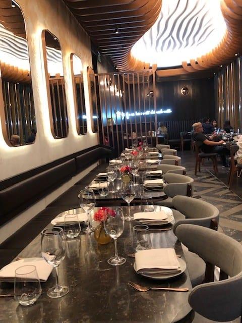 Mediterranean restaurant in lond