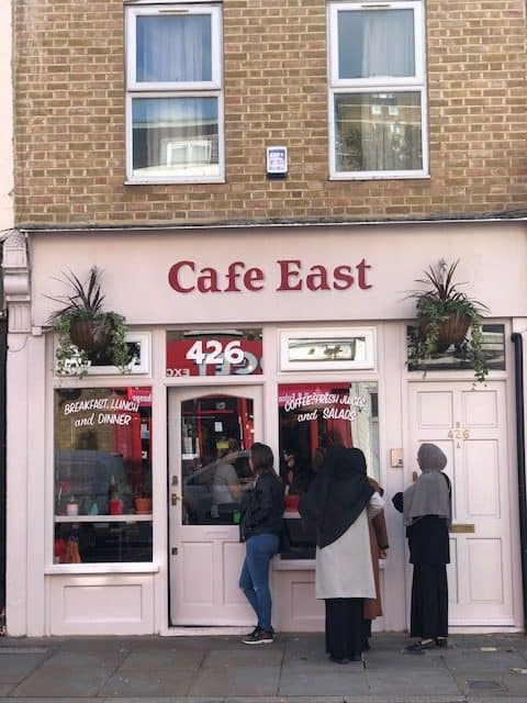 cafe on roman road