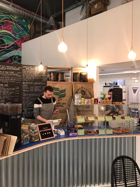 cafe in royal docks