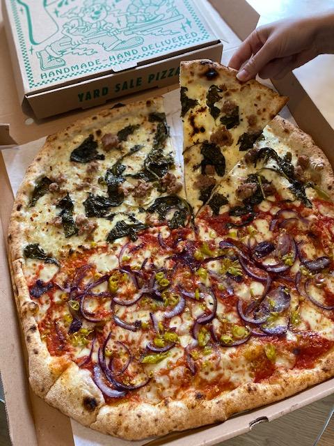 pizza in east london