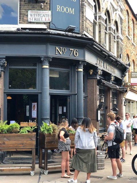 pub on broadway market