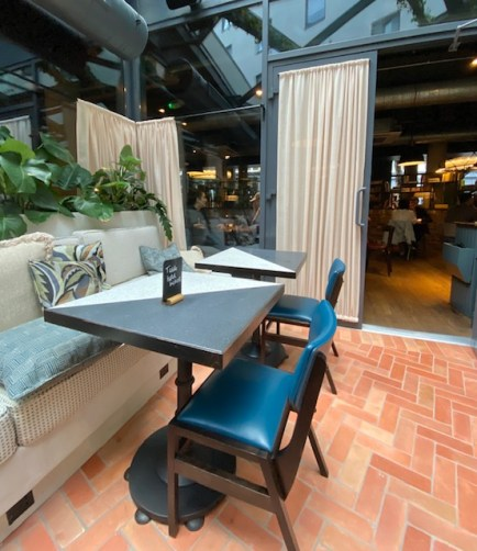 hotel bar in shoreditch