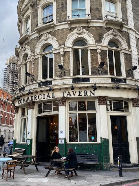 the commercial tavern