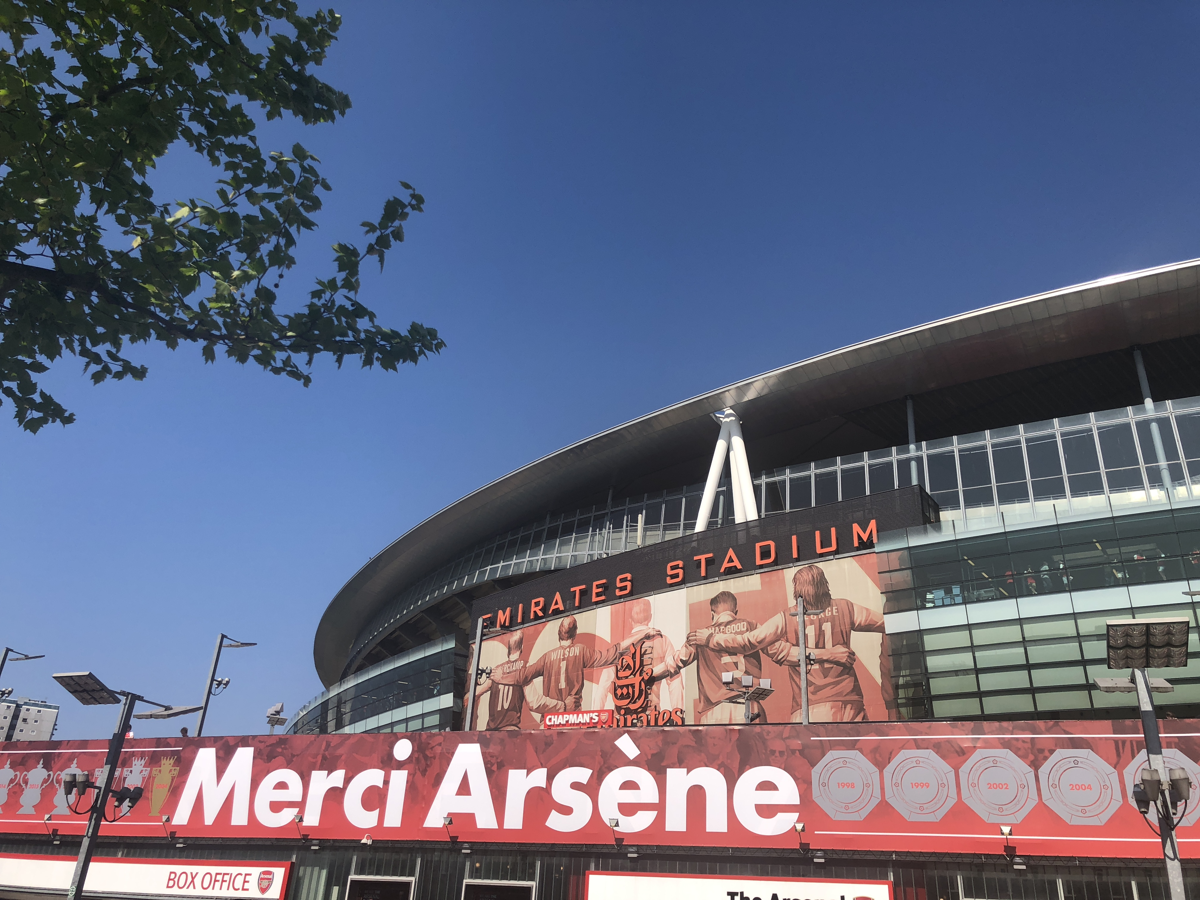 Wenger's last home game