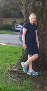 Abby Connell, 3rd grade