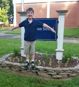 Eli Morrison, third grade