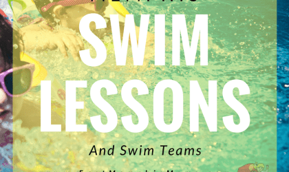 Swim Lessons & Swim Teams