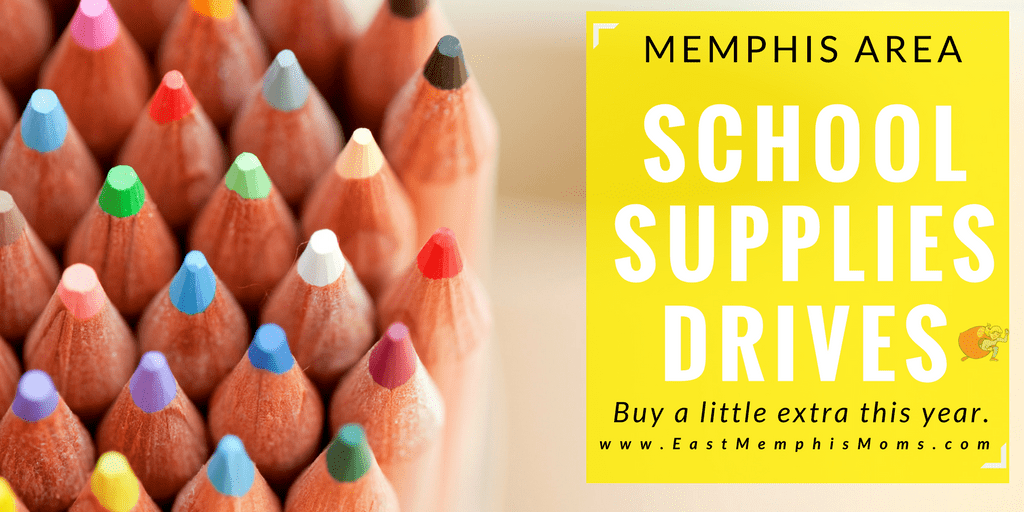 Memphis School Supplies Drive & Tax-Free Weekend