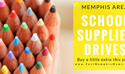 Memphis School Supplies Drive & Tax-Free Weekend
