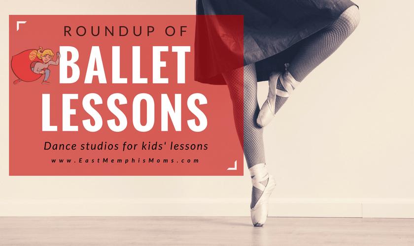 Memphis Ballet Lessons - EastMemphisMoms.com