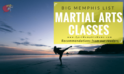 Recommended Memphis Martial Arts Programs