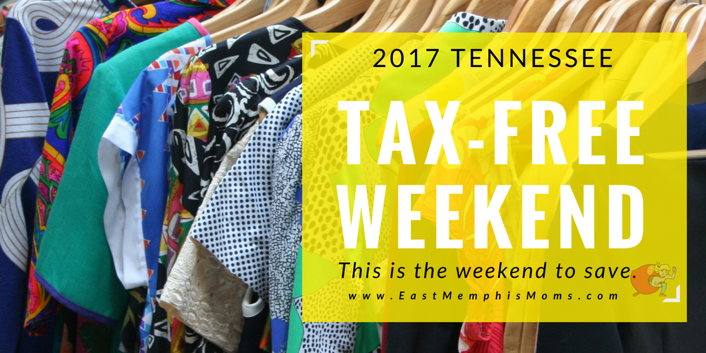 Your Guide to the 2017 TN Tax Holiday