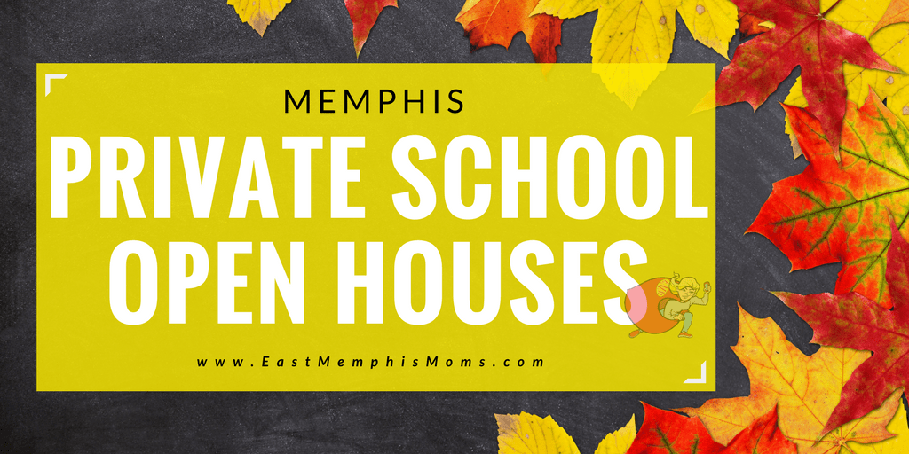 Memphis Private School Open Houses