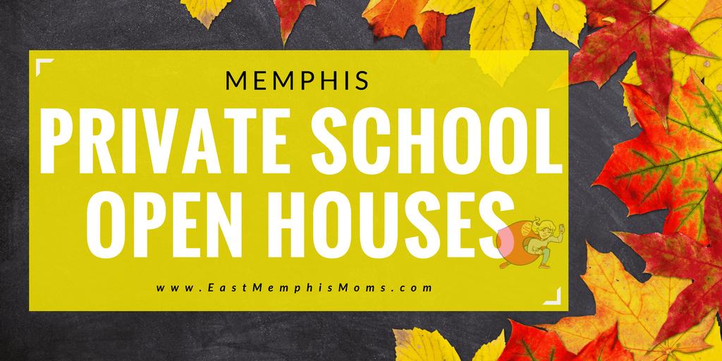 Memphis Private School Open Houses - EastMemphisMoms.com