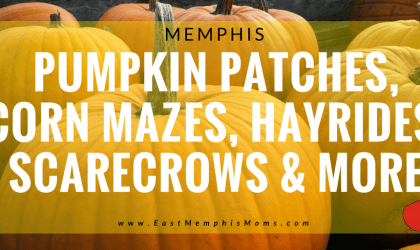 Memphis Pumpkin Patches, Corn Mazes, Hayrides, and More