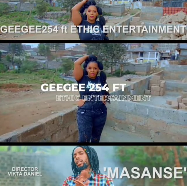 Geegee 254 – MASANSE ft Ethic Entertainment
