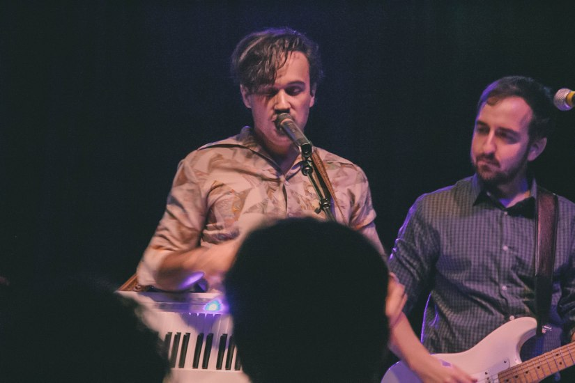 Caleb and the keytar