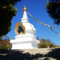 The Buddhist Stupa of the Eastern Costa del Sol