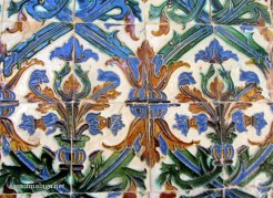 old patterned tiles