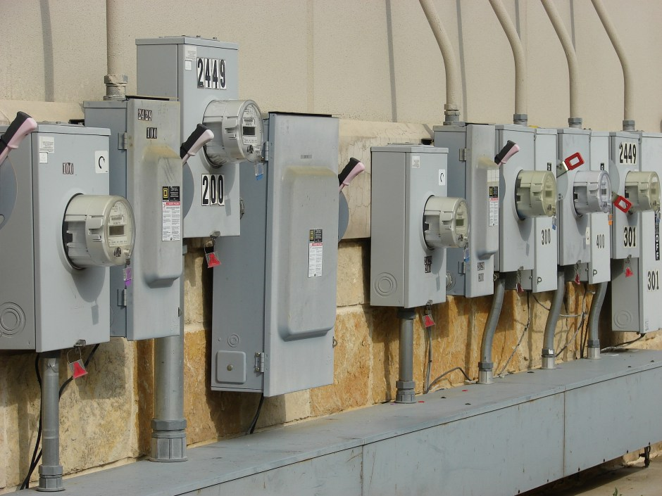 Electric meter boxes courtesy of Wikimedia