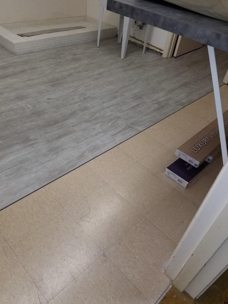 Vinyl Flooring Installation 2