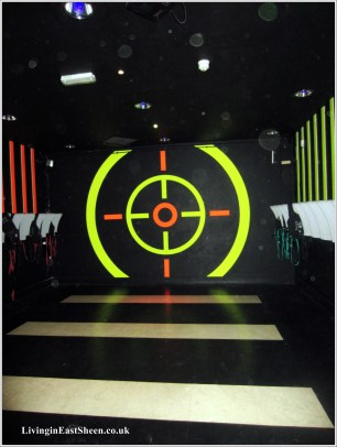 The entrance to the Laser 7