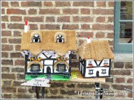 Crafty ideas, bird houses from recycled material