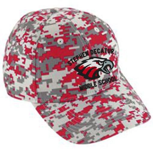 Red Camo Cap