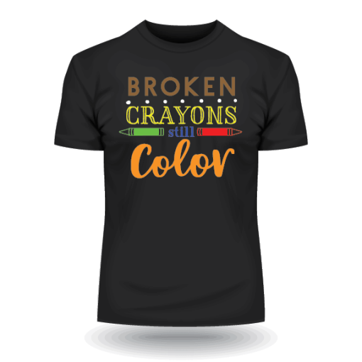 Broken Crayons Still Color (Black)