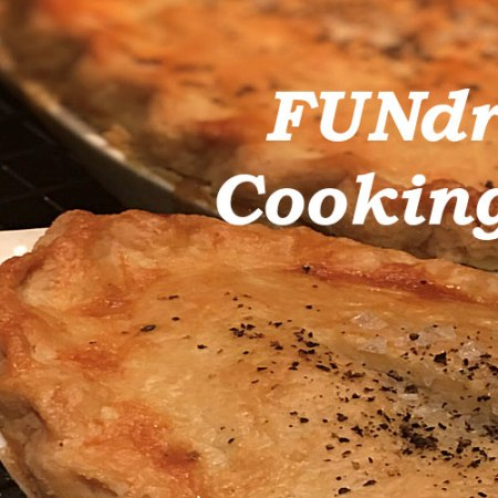 Chicken pot pies fundraiser cooking class